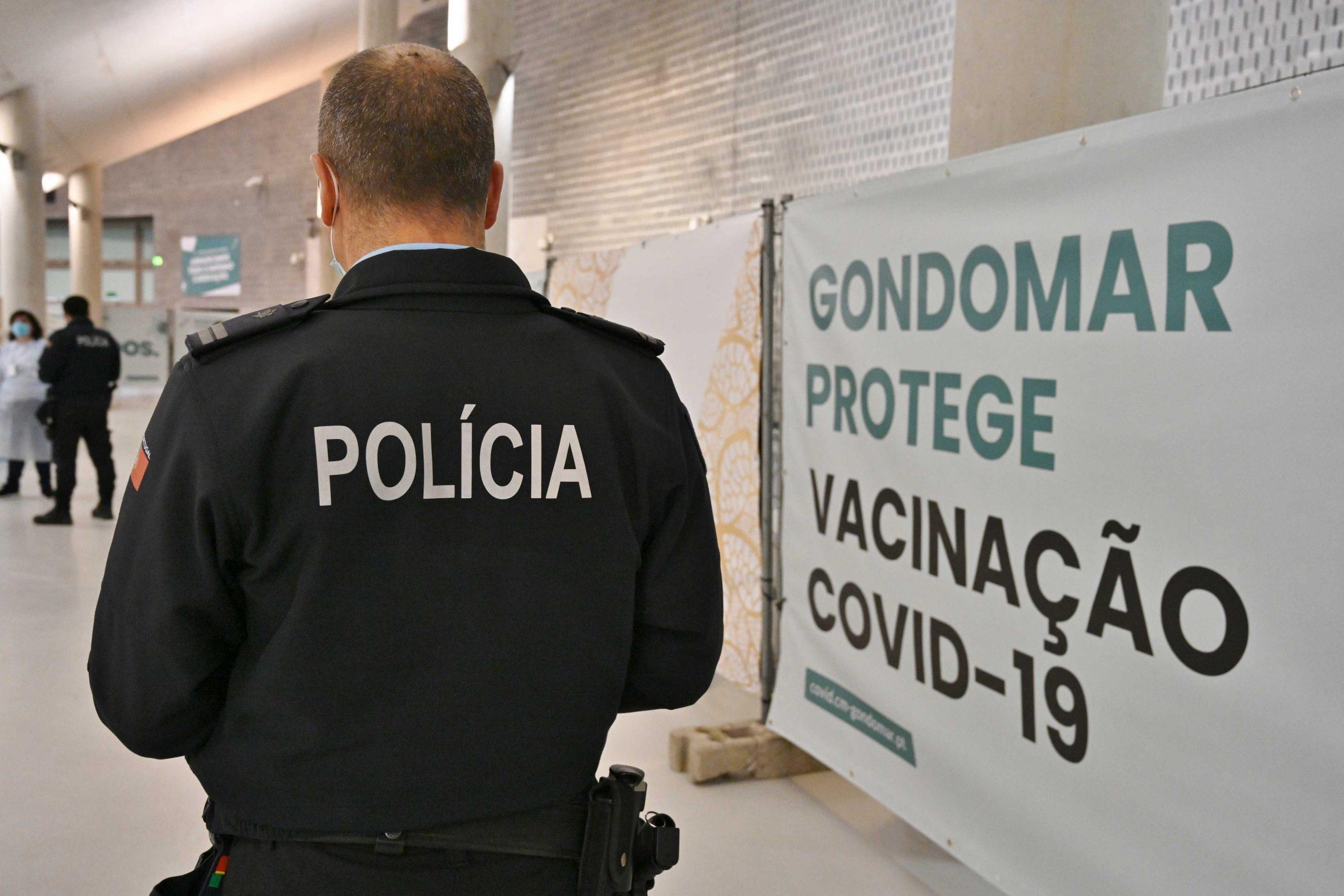 Forças de Segurança e mais 80 Bombeiros vacinados em Gondomar