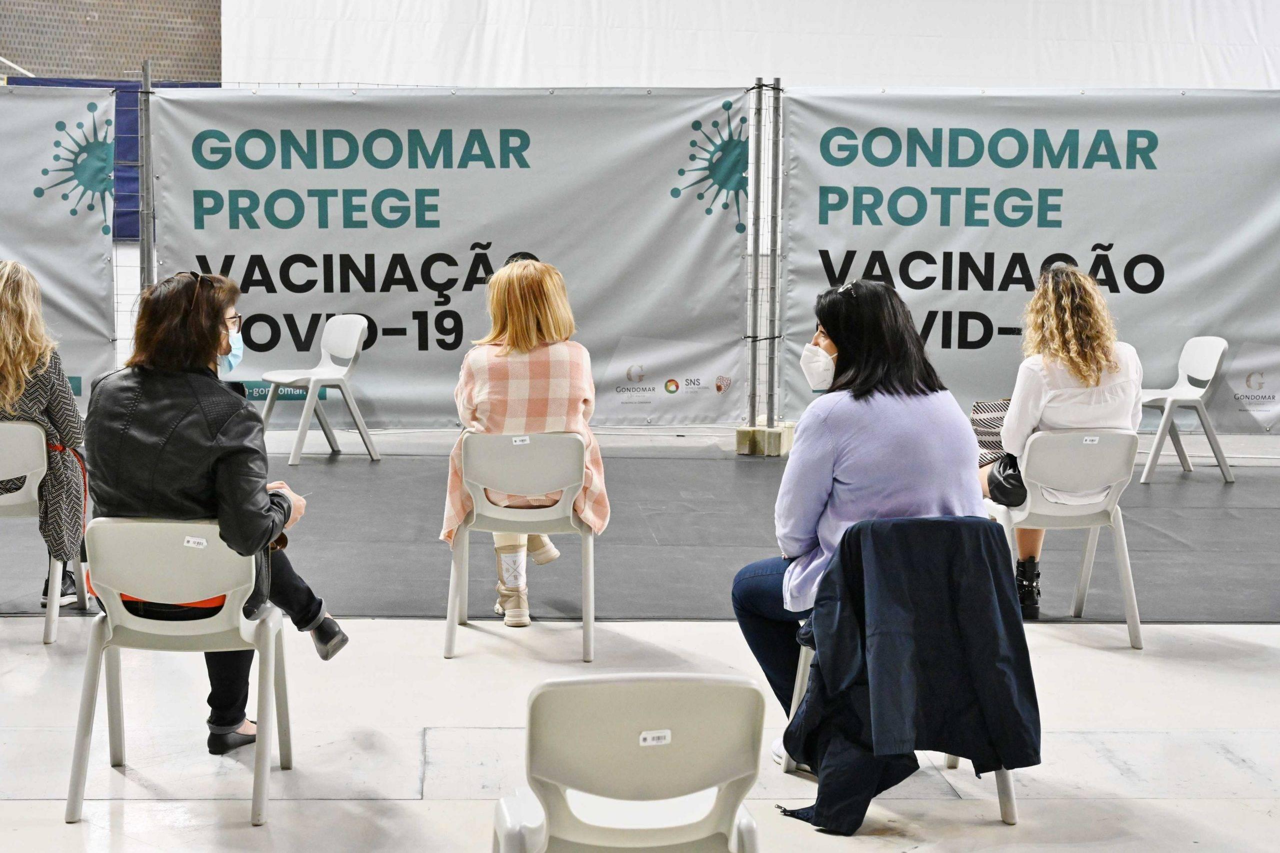 Cerca de 2500 professores e funcionários vacinados este fim-de-semana em Gondomar 1