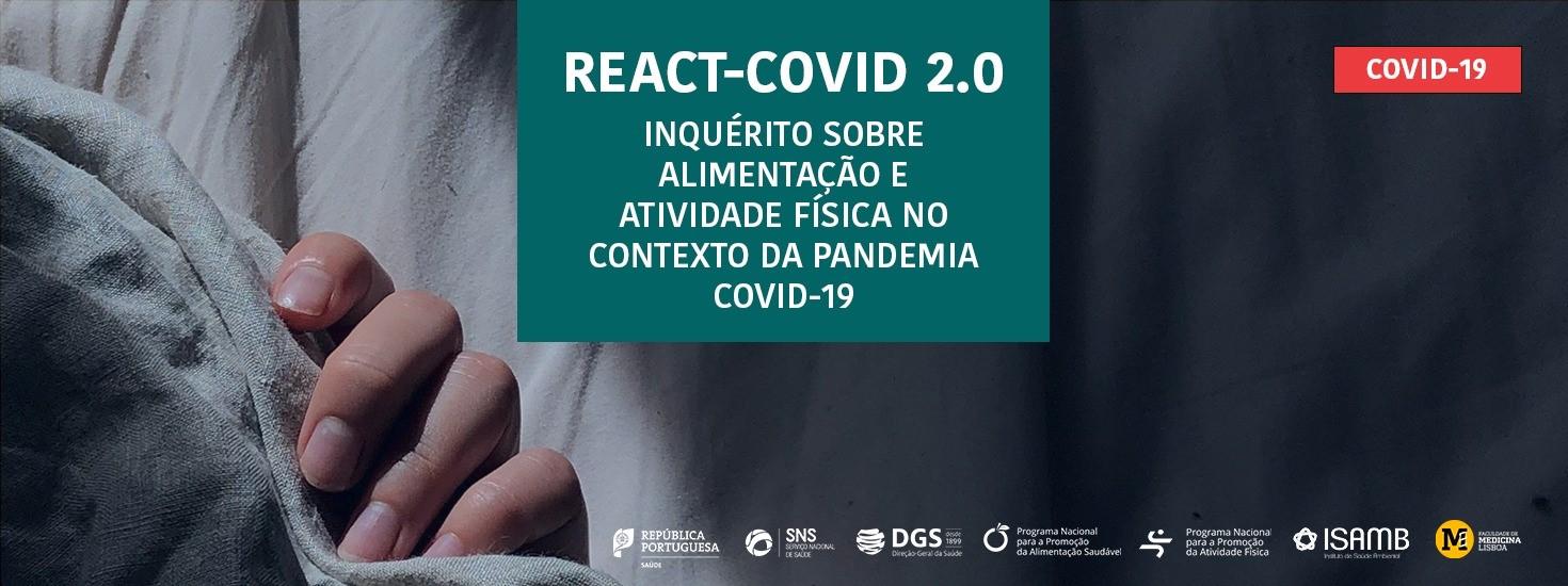 REACT-COVID 2.0 – Inquérito Nacional a Hábitos Alimentares e de Atividade Física
